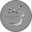 Enola-Gay-Silver-Coin-Bomber-Hiroshima-1945-OMD-Song-Nagasaki-WW2-Nuke-Weapon-US miniatura 7
