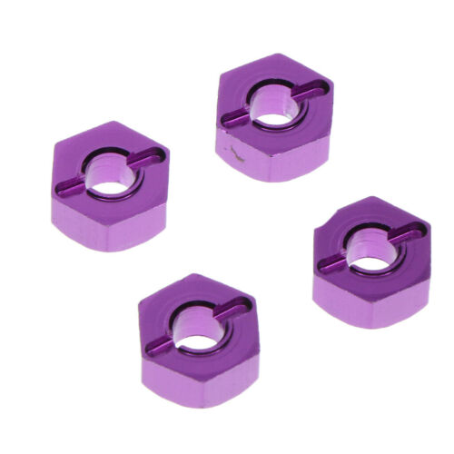 1//18 Scale Car Model Toys Accs Metal Wheel Hex Combiner for Wltoys Truck Models