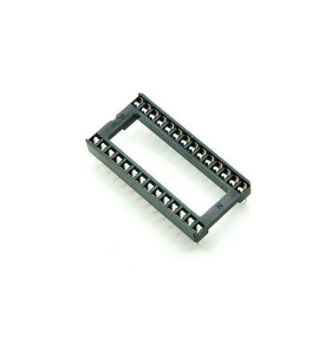 5PCS 28 pin 28pin DIP IC sockets Adaptor Wide Type NEW