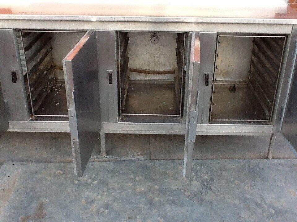 Køledisk / industri køleskab 8 rum INKL Kompressor