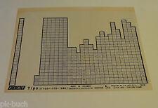 Microfich Ersatzteilkatalog Fiat Tipo (1100 - 1370 - 1580) 60331526