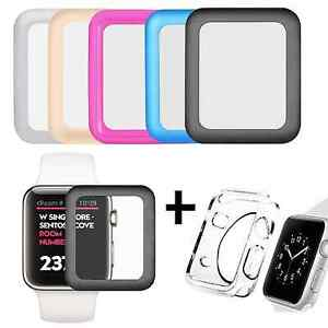 Apple-Watch-Full-Cover-Tempered-Glass-Screen-Protector-Film-Soft-Case-38-42mm