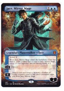Magic the Gathering MTG ZENDIKAR RISING JACE MIRROR IMAGE BORDERLESS MYTHIC