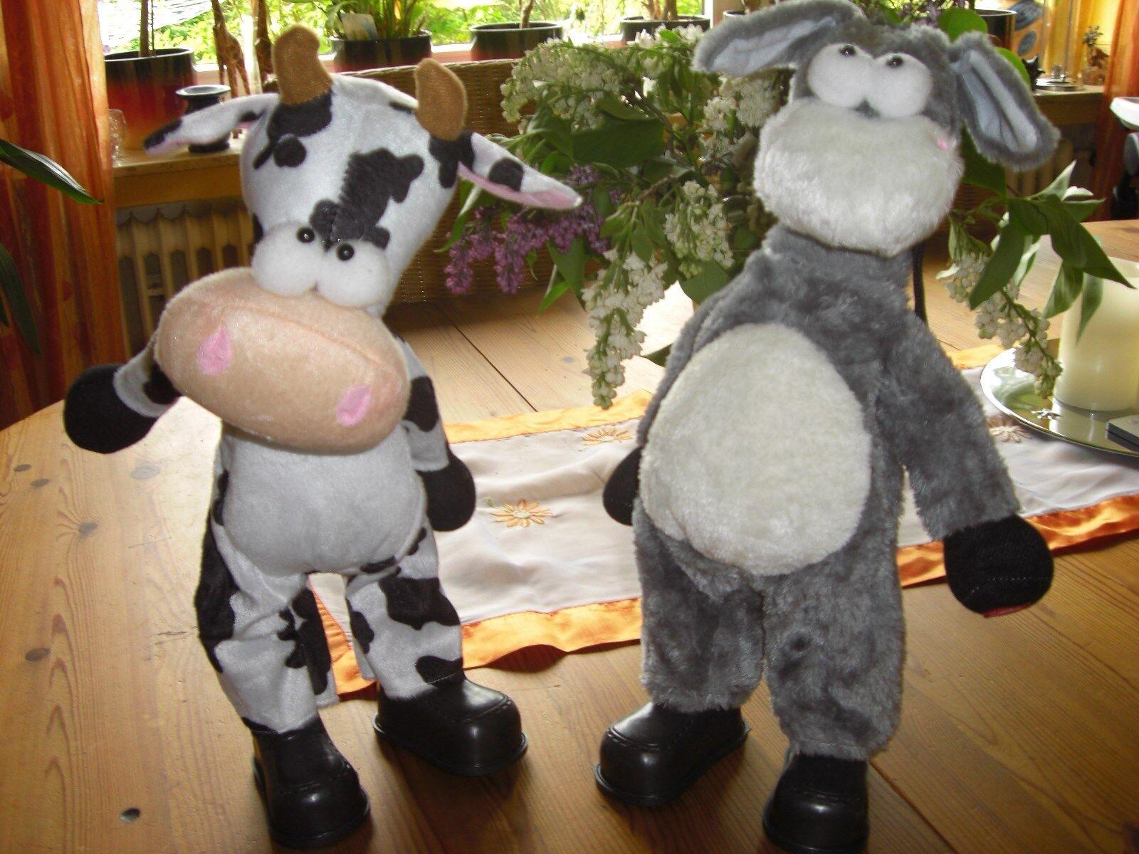 2 flotte Tänzer Kuh Und Esel mit Musik