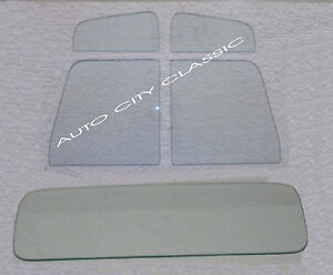Vent Door Rear Back Glass In Clear 1957 1958 1959 1960 Ford Pickup Pu Truck Ebay