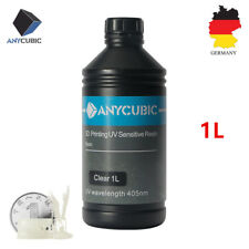 DE Stock ANYCUBIC 1L Clear 405nm UV Sensitive Resin For SLA Photon 3D Printer