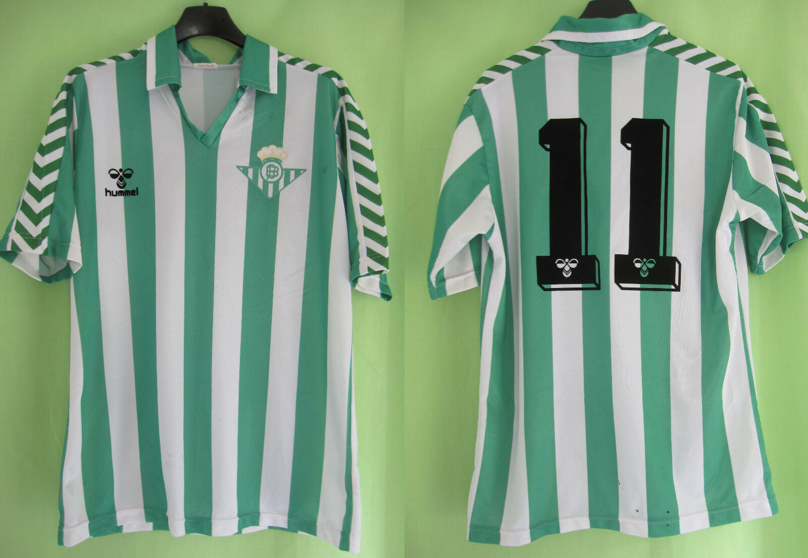 Maillot Real Betis Seville Hummel vintage 1998 Jersey Football - M