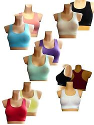 Seamless BH Sport BH Nahtloses Bustier Fitness BH Sport Top Marke Tebe / Tina