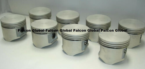 Sealed Power Chrysler//Dodge//Plymouth 383 Cast Flat Top Pistons Set//8 1959-71 30
