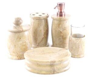 Sahara-Beige-Marble-5-Piece-Bathroom-Accessories-Set-of-Pacific-Collection