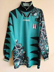 Beşiktaş JK Reusch #1 Raimond Aumann 1994-95 Match Worn Torwart Trikot Besiktas