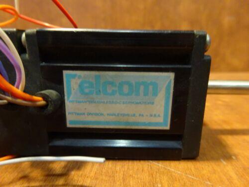 Details about  /ELCOM servo motor 4221B385-R1