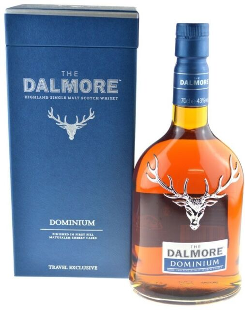 Dalmore Dominium Whisky 0,7l inkl. Geschenkpackung