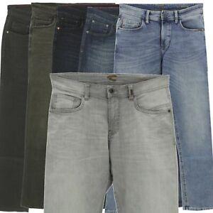 CAMEL-ACTIVE-Herren-Jeans-Hose-HOUSTON-Straight-Stretch-blau-olive-schwarz-grau