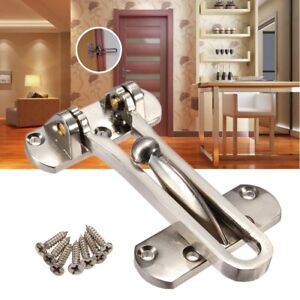 Thicken Front Door Security Chain Restrictor Strong Home Safety Lock ...