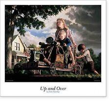 Bob Byerley UP and Over Children Go Kart Print