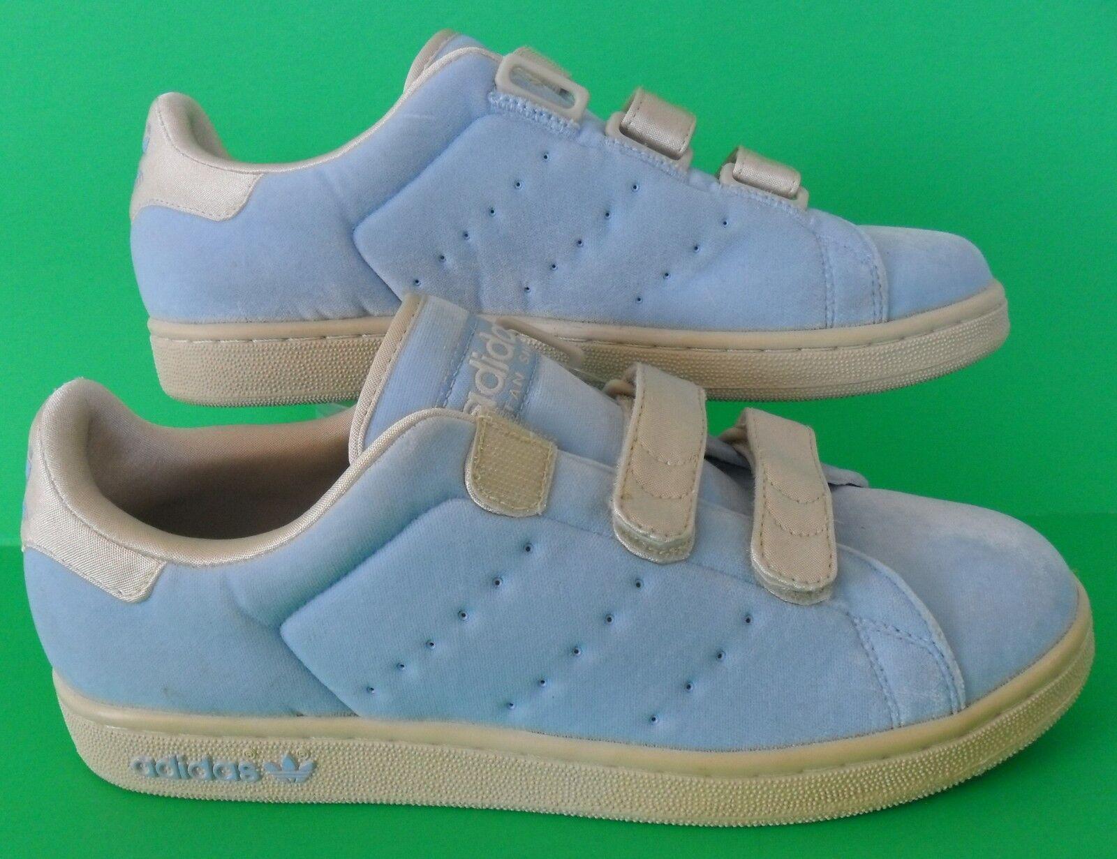 RARE~Adidas STAN SMITH 2 CF VELOUR fafi honey attitude Shoe sneaker~Women sz 9.5