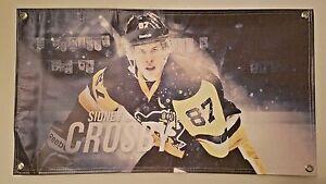 Crosby Felt Player Banner Pittsburgh Penguins/™ 15 x 24 S