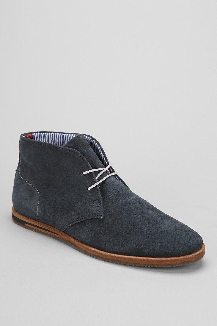 Ben Sherman Aberdeen Desert Boots Men's Blue Size 8 MSRP: $90