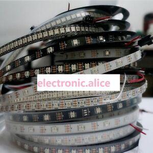 WS2812B-5050-RGB-LED-Strip-1-5M-150-300-Leds-144-30LED-Individual-Addressable-5V