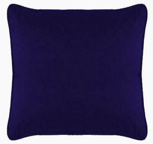 Cushion Cover Pillow Case Velvet Solid Removable Insert Not Included Bed Sofa