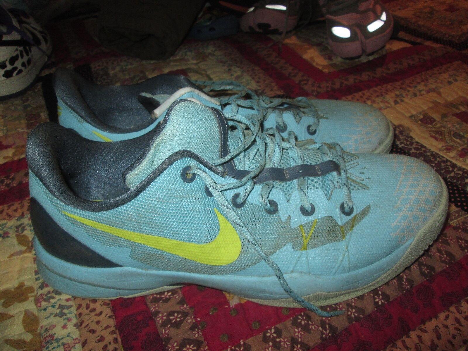 Nike Zoom Kobe Venomenon 4 Basketball Mens Shoes 635578-400 Polarized Blue Mens Basketball 13 933594