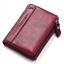 Men-Women-Genuine-Leather-Cowhide-Bifold-Wallet-Holder-Credit-Card-Retro-Purse miniature 12