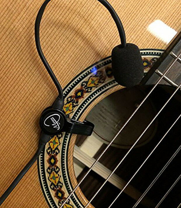 The Feather  DREADNOUGHT GUITAR MIC by Myers Pickups