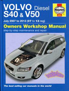 SHOP MANUAL    S40    V50    SERVICE       REPAIR    VOLVO    HAYNES    BOOK CHILTON   eBay