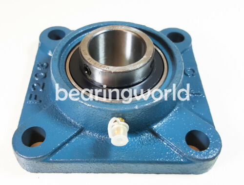 """NEW UCF205-16  High Quality 1/"""" Set Screw Insert Bearing with 4-Bolt Flange"""