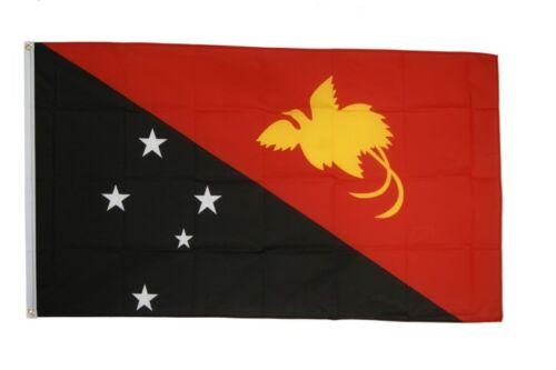 Papouasie-Nouvelle-Guinée Hissflagge Papouasie-neuguineische drapeaux drapeaux 60x90cm