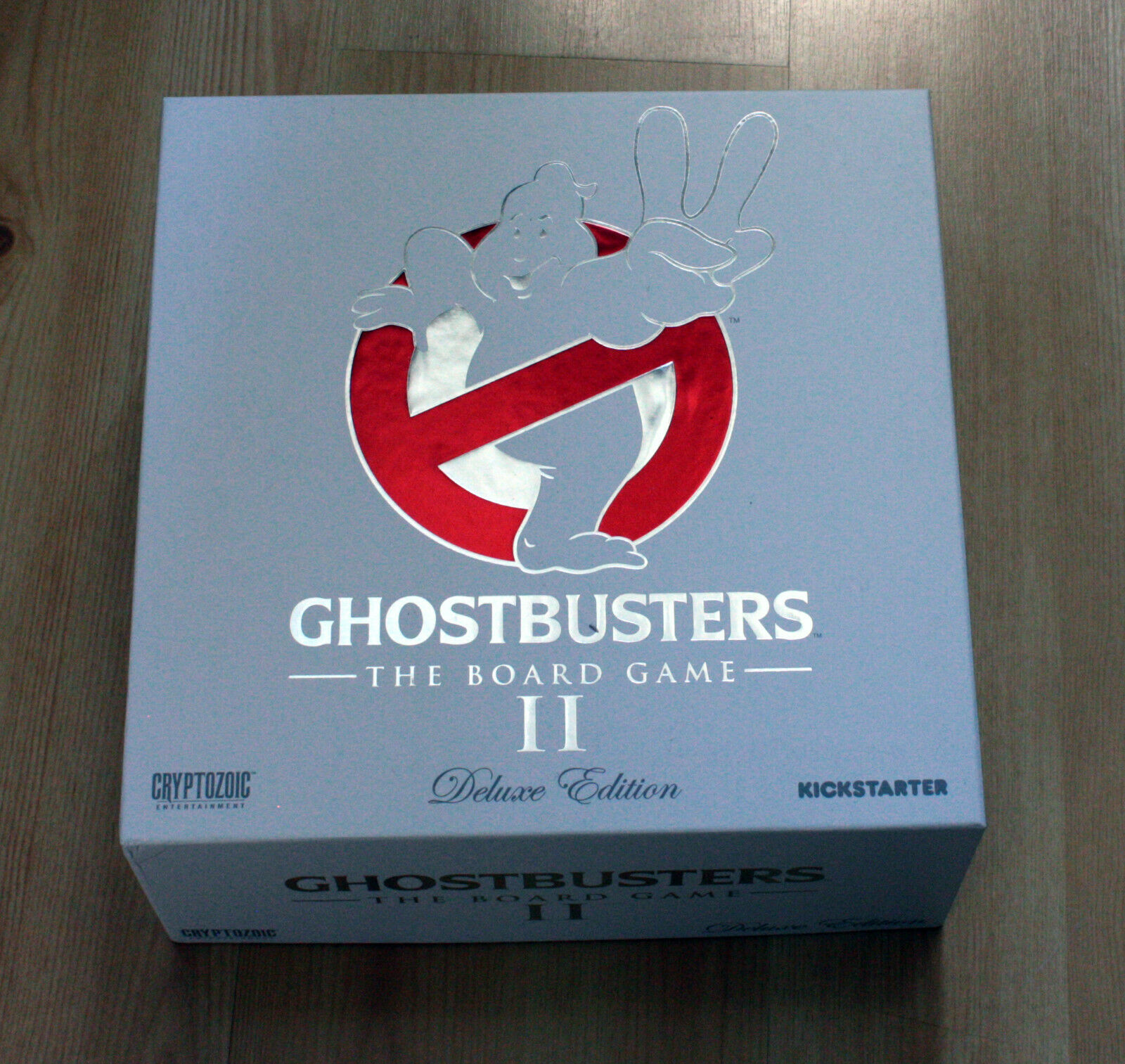GhostBuster 2 Board Juego KS edition with additionnal addons