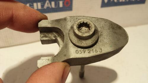 2012 AUDI VW 3.0 TDI FUEL INJECTOR Tensioning Plate /& BOLT 059130216J OEM