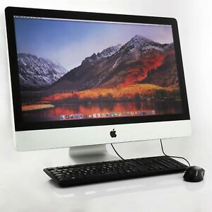 "Apple Imac 27"" Inch Core 2 Duo 3.06ghz 8gb New 240gb Ssd Refurbished 2009"