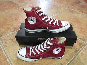 Converse Star Größe M9613c Neu Hi Weinrot All Maroon Chucks 42 j5q3ARcL4