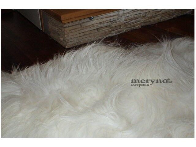 Icelandic Sheepskin Rug Soft Natural