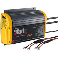 ProMariner ProSport 12 PFC Gen 3 12Amp 2 Bank On-Board 110/220V Battery Charger