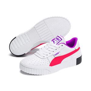 Puma Women's Sneakers Cali WN'S Lacing Leather Training Fashion ...