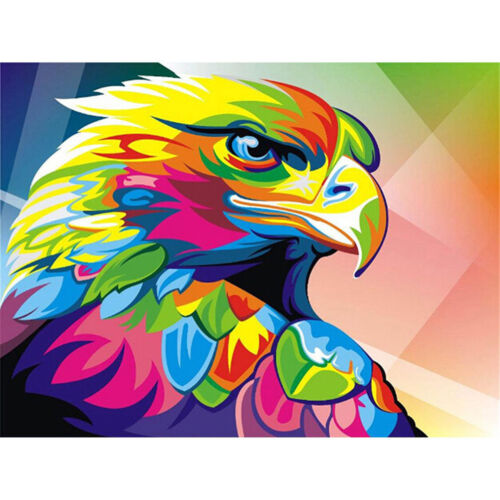 Abstract eagle 5D Diamond Embroidery Painting Cross Stitch Craft Home Decor vbuk