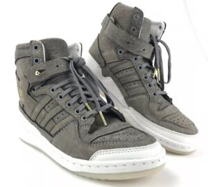 722de25423c Adidas Forum HI Crafted Pack Shoes   Cleaning KIT BW1253 Size 6 New ...
