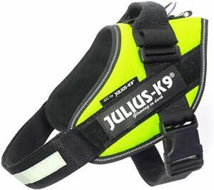 Dog-Harness-Julius-K9-IDC-Powerharness-Neon-Green-All-Sizes