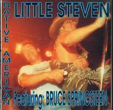 """LITTLE STEVEN - RARO CD ITALY ONLY 1994 """" NATIVE AMERICAN """" BRUCE SPRINGSTEEN"""