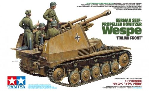 Tamiya 35358 - 1/35 German Self-Prpelled Howitzer - Wespe - Italian Front - Neu