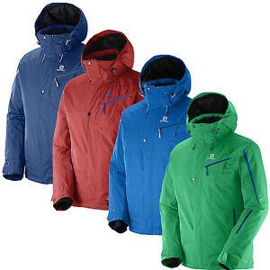 Details about Salomon Supernova Jacket Herren Skijacke Snowboardjacke Winterjacke Jacke NEU