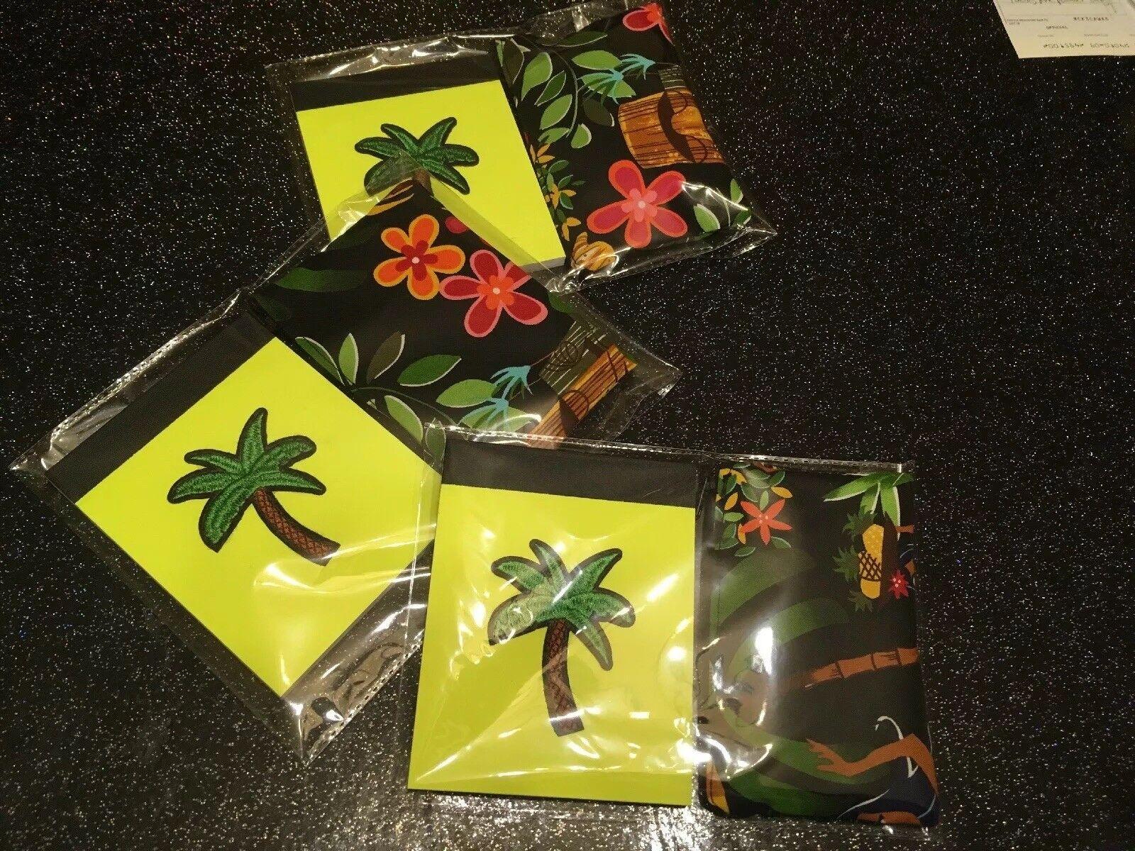 Tropical Tiki Hawaii Notebook + Coin Purse retro Gift Set