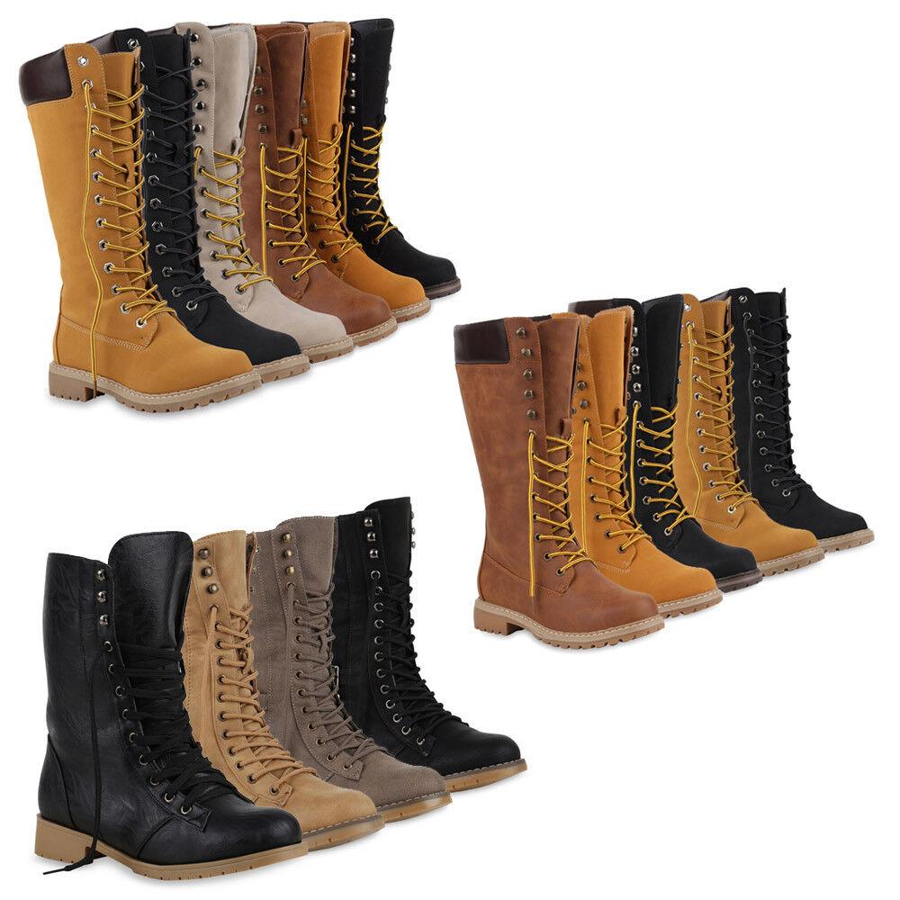 Damen Sneaker Stiefel Sportliche Boots Gefüttert 70456 Gr. 36-42 Schuhe