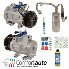 New A/C Compressor Kit Fits: 2008 - 2010 Ford F-Series Super Duty Diesel 6.4L