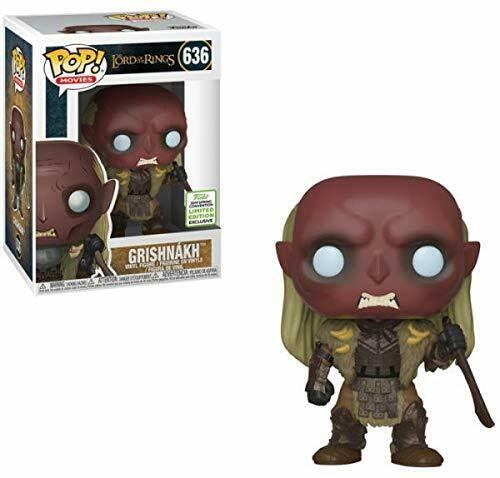 Lord of the Rings Funko Pop Spring Convention 2019 Exclusive Grishnak BRAND NEW