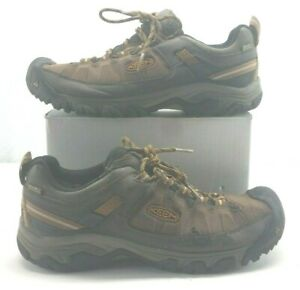 d04be83c9e7 Details about KEEN 1017722 Men's Targhee Exp Low WP Hiking Shoes Cascade  Inca Gold Size 13