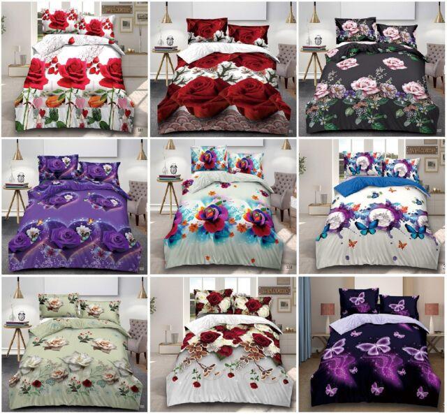 Purple Flying Unicorn 3d Bedding Sets 4, Magenta Bedding Sets